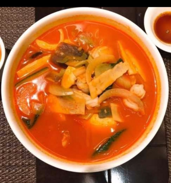 (사진) 홍보각의 인기메뉴 '짬뽕'