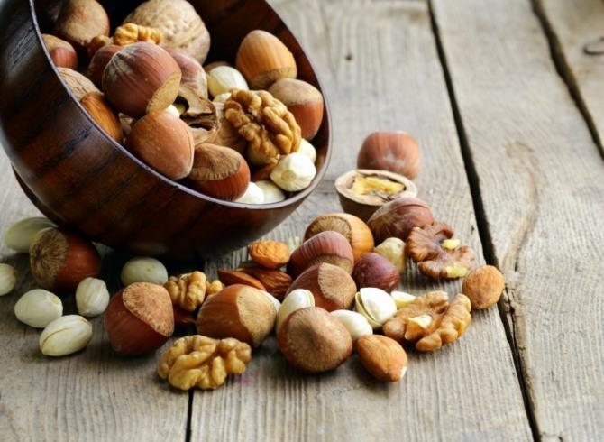 (사진) 비타민B 영양소가 많은 견과류
